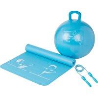 Energetics Çocuk Fitness Seti (Mat&Top&İp)