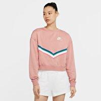 Nike W Nsw Hrtg Crew Flc Kadın Günlük Sweatshirt